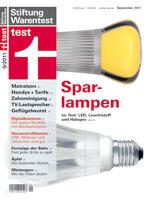 Heft 09/2011 Energiesparlampen: Testsieg für LEDs