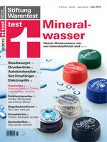 Heft 06/2015 Natürliches Mineralwasser: Nah an der Quelle