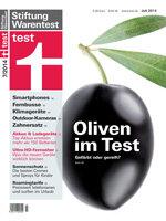 Heft 07/2014 Schwarze Oliven: Geschwärzte Früchte oft weniger aromatisch