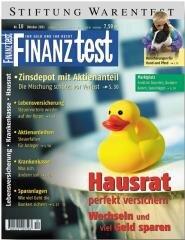 Heft 10/2001 Hausratversicherung: Die Richtige finden