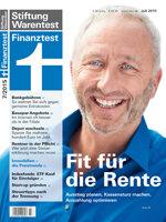 Heft 07/2015 Rente: So holen Sie das Beste raus