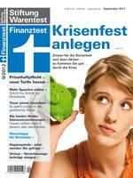 Heft 09/2012 Garantiedepot: Ein Depot mit Garantie und Chancen