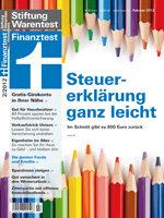 Heft 02/2012 Steuererklärung 2011: Schnell mein Geld zurück