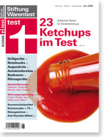 Heft 06/2008 Tomatenketchup: Rote Versuchung