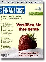 Heft 10/2005 Geldanlage für Senioren: Mehr Geld im Ruhestand