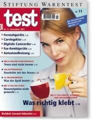 Heft 11/2001 Klebstoffe: Dicke Luft durch Lösemittel