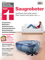 Heft 03/2019 Saugroboter: Expedition unters Sofa