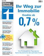 Heft 04/2020 Immobilie finanzieren: Zinstief jetzt richtig nutzen