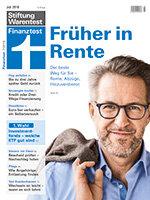 Heft 07/2018 Rente: Ein neuer Abschnitt beginnt