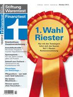 Heft 10/2012 Riester-Rentenversicherung: Fünfmal gut für Riester