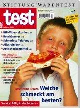 Heft 02/2000 Tiefkühlpizza: Manche mögens scharf