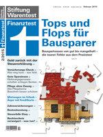 Heft 02/2015 Bausparkassen im Praxistest: Nur drei sind gut