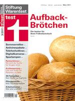 Heft 03/2011 Aufbackbrötchen: Die besten fürs Frühstück