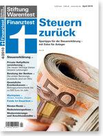 Heft 04/2010 Steuererklärung für 2009: Alle Spartipps für Sie