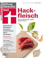 Heft 02/2015 Hackfleisch im Test: Bio schlägt konventionell