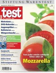 Heft 09/2005 Mozzarella: Frisch muss er sein