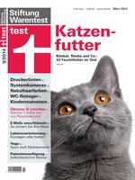 Heft 03/2014 Katzenfutter: Macht die Katze froh!