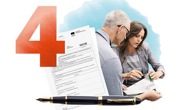 G0115 ausfüllen selbsteinschätzungsbogen rentenversicherung richtig Reha Antrag