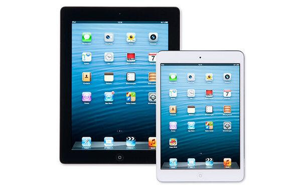 apple ipad 4 und ipad mini zwei neue apple tablets. Black Bedroom Furniture Sets. Home Design Ideas