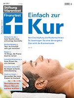 Heft 07/2017 Einfach zur Kur: Ihr Weg zur Erholung