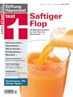 Heft 03/2012 Multivitaminsäfte: Saftiger Flop