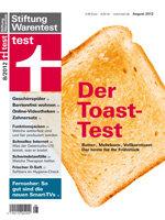 Heft 08/2012 Toast: Der beste für Ihr Frühstück
