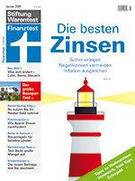 Heft 01/2020 Zinstest: Gute Zinsen ansteuern