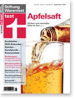 Heft 09/2009 Apfelsaft: Drei sind durchgefallen