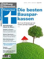 Heft 08/2012 Bausparen: Vier gut, vier mangelhaft