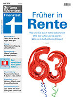 Heft 06/2020 Früher in Rente: Ruhestand zur richtigen Zeit