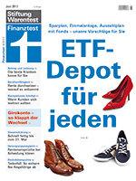 Heft 06/2017 ETF: Einmalanlage, Sparplan und Auszahlplan mit Pantoffel-Portfolio