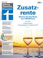Heft 10/2020 Zusatzrente: Sicher oder mit Chance auf mehr