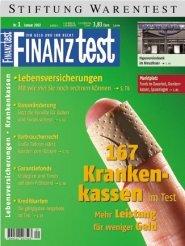 Heft 01/2002 Gesetzliche Krankenkassen: Welche Kasse (zu) mir passt