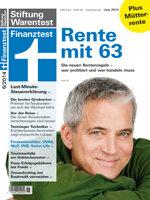 Heft 06/2014 Rentenreform: Wer profitiert und wer handeln muss