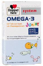 Pillen Für Die Schule Doppelherz Omega 3 Junior Stiftung Warentest