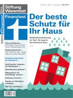 Heft 05/2016 Wohngebäudeversicherung: Preisschock