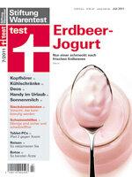 Heft 07/2011 Erdbeerjogurt: Nur einer ist sehr gut