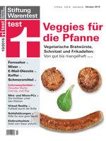 Heft 10/2016 Fleischersatz: Auf in die Veggie-Welt