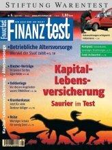 Heft 04/2002 Kapitallebens-Versicherung: 126 Tarife im Test