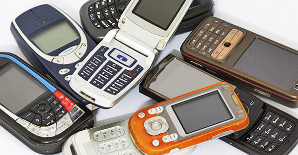 Elektronikschrott Handys Akkus Und Lampen Umweltgerecht