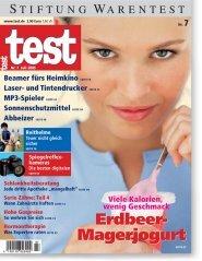 Heft 07/2005 Erdbeer-Magerjogurt: Liebloser Aroma-Mix