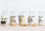 Pflanzendrinks aus Soja, Reis, Hafer und Mandel Special