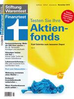Heft 11/2015 Großer Check des Fondsdepots: Die Richtigen aus 17000