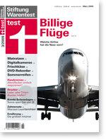 Heft 03/2009 Billigflieger: Zehn Airlines im Test