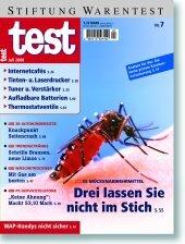Heft 07/2000 Mückenabwehr: Im Stich gelassen