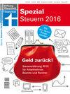 Finanztest Spezial Steuern 2016: Geld zurück! Steuererklärung 2015 für Arbeitnehmer, Beamte und Rentner