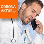 Videosprechstunde beim Arzt Meldung