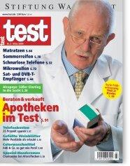 Heft 03/2004 Beratung in Apotheken: Mehr schlecht als recht