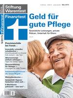 Heft 05/2015 Geld für gute Pflege: Gesetzliche Leistungen, private Policen, Unterhalt für Eltern