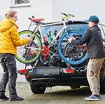 Fahrradträger für die Anhängerkupplung im Test Test